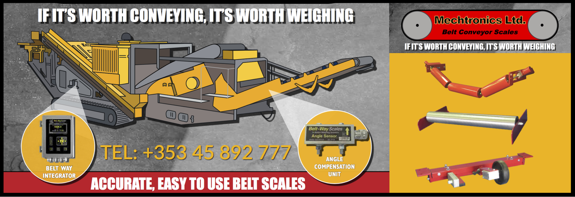 Mechtronics Belt Scales Banner